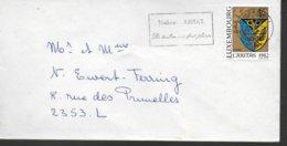 LUXEMBOURG Lettre  1982 Caritas  Armoiries Frisange - Briefe U. Dokumente
