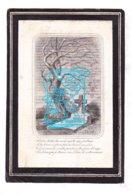 DP Maria F. Baucéré ° Brugge 1818 † Ieper 1867 X Augustus Borry - Images Religieuses