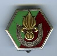 Insigne Militaire. 1ere Compagnie Saharienne  Portée De La Légion Etrangère . - Armée De Terre