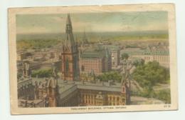 PARLIAMENT BUILDINGS, OTTAWA. ONTARIO   VIAGGIATA FP - Ottawa