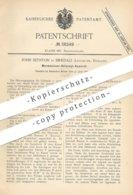 Original Patent - John Sephton , Birkdale , Lancaster , England , 1886 , Warmwasser - Heizung | Kessel , Heizungen !!! - Historische Dokumente