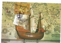 CARTE MAXIMUM- MAXIMUM KARTE - MAXIMUM CARD- MACAU/MACAO - VASCO DA GAMA ET LA VOYAGE POUR MER À INDE -1498-1998 -BATEAU - History