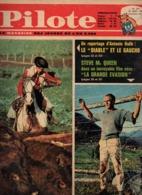 Pilote N°201 Steve Mc Queen Dans Le Film La Grande évasion - Pilotorama : Jeanne D'Arc Devant Orléans De 1963 - Pilote