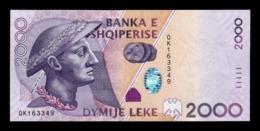 Albania 2000 Leke 2012 Pick 74b SC UNC - Albania