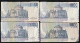 4 X 10000 LIRE - [ 2] 1946-… : Republiek