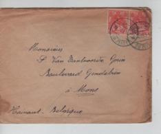PR7372/ TP¨Hollandais S/L.c.Zeist 1915 > Mons Belgique Expéditeur Militaire 4° Reg.de Ligne - WW I