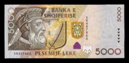 Albania 5000 Leke 2013 Pick 75b SC UNC - Albanië