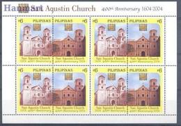 Philippines 2004 Mi 3584-3585 MNH ( ZS8 PLPark3584-3585 ) - Churches & Cathedrals