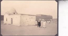 TOZEUR TUNISIE Ambiance De Rue  1923. Photo Amateur Format Environ 5,5 Cm X 5 Cm - Lieux
