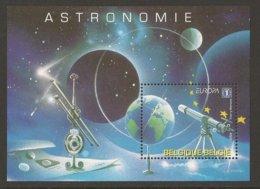 "BELGICA / /BELGIUM /BELGIQUE / BELGIEN - EUROPA 2009 - ""ASTRONOMIA"" -  FEUILLE BLOC - Europa-CEPT"