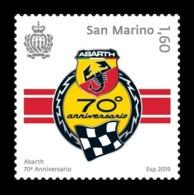 San Marino 2019 Mih. 2799 Abarth Race Car Company MNH ** - San Marino