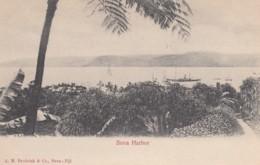 Suva Fiji, Harbor Harbour Scene, South Seas Pacific Oceania, C1900s Vintage Postcard - Figi