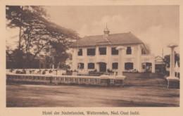 Weltevreden Dutch East Indies, Indonesia Netherlands Colonial Era, Hotel Der Nederlanden, C1920s/30s Vintage Postcard - Indonesia