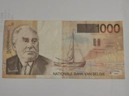 Belgique, 1000 Francs, Permeke - [ 2] 1831-... : Reino De Bélgica