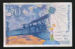 50 FRANCS  BELLE ETAT - 1992-2000 Laatste Reeks