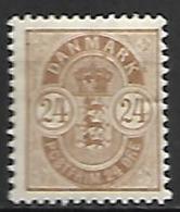 DANEMARK     -    1901.    Y&T  N° 40 *. - Nuovi