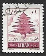 LIBAN  1953 -  YT  89 -  Cèdre  -   Oblitéré - Líbano