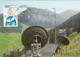 LIECHTENSTEIN Maximum Card 937 - Europa-CEPT