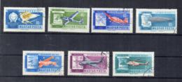 UNGHERIA - 1962 - Storia Dell'Aviazione - 7 Valori - Usati - (FDC17409) - Aerei