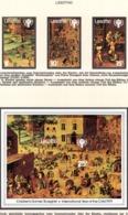YEAR INTERN. OF CHILD - LESOTHO - Mi. Nr. 278/280 + BF 4 - NH - (6532-38.) - Lesotho (1966-...)
