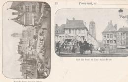Tournai.  Rue Du Pont Et Tour Saint-Brice.  Scan - Tournai