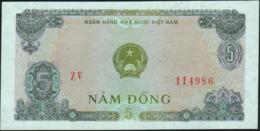 VIETNAM Viet Nam - 5 Dong 1976 AU-UNC P.81 A - Vietnam