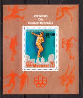 Guinea Bissau   - 1976.  Discobolo Olimpico. Raro Sheet . Olympic Discobolus. Rare MNH Sheet - Estate 1976: Montreal