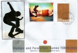 Olympic Sports Debut: Skateboarding TOKYO 2020 , Special Cover Tokyo 2019 - Skateboard