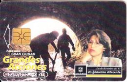 MEXICO - Grandes Acciones, Chip GEM1.1, 06/00, Used - Mexico