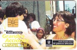 MEXICO - Grandes Acciones, Chip GEM1.1, 05/00, Used - Mexico