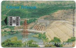 Ghana - Ghana Telecom - Akosombo Dam - 02.2001, 150U, 40.000ex, Used - Ghana