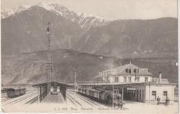Suisse :  BRIG Bahnof , Gare , Ankunft  Eines  Zuges  , Train - Svizzera