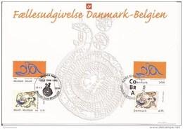 OCB 3563 Herdenkingskaart Gemeenschappelijke Uitgifte CoBrA - Souvenir Cards