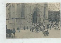 Le Vésinet (78) : La Sortie De La Messe à L'église En 1910 (animé) PF . - Le Vésinet