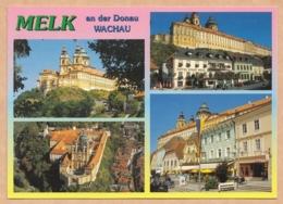 Melk An Der Donau - Benediktinerkloster Stift Melk In Der Kulturlandschaft Wachau  - 4 Ansichten - Melk