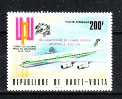 Alto Volta   - 1974.  Aereo; Anniversario UPU. Aircraft; UPU Anniversary. MNH - Aerei