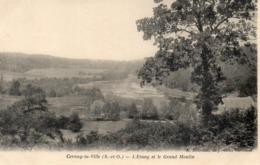 CPA- CERNAY LA VILLE - L'ETANG ET  LE GRAND MOULIN - Cernay-la-Ville