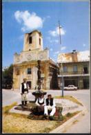 Croatia Gospic 1995 / Church, Fountain, National Costumes - Croazia