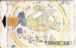 MEXICO - Azulejos De Ceramica $20(4/6), Chip GEM1.3, 01/96, Used - Mexico