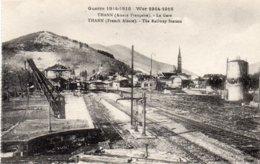 Guerre 1914-1918 THANN (Alsace Française) L'Gare - Thann