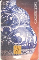 MEXICO - Talavera/Jarron(5/6)$20, Chip GEM, 01/96, Used - Mexico