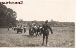 CARTE PHOTO : MANDRES AOUT 1917 FETE DU BATAILLON REMISE DES PRIX SOLDATS MILITAIRES CHASSEURS ? GUERRE E. VENAN BRUNOY - Mandres Les Roses