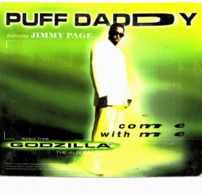 CD N°1939 - GODZILLA - PUFF DADDY FEATURING JIMMY PAGE - COME WITH ME - COMPILATION 2 TITRES - Filmmusik