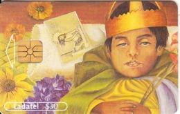 MEXICO - Frida Kahlo/El Difuntito Dimas Rosas(5/6), Chip G&D, 06/01, Used - Mexico