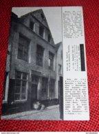 """MECHELEN  - MALINES  - Huis Der Van Beethoven , """" Het Moleken """" , Steenstraat - Mechelen"""