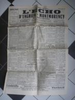 JOURNAL L'ECHO D'ENGHIEN MONTMORENCY 1957 - Historical Documents