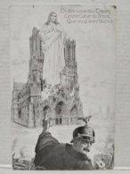 En Détruisant Les Eglises, C'est Le Coeur De Jésus Que Vous Avez Blessé - Guerre 1914-18