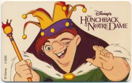 NETHERLANDS - PAYS-BAS DISNEY HUNCHBACK OF NOTRE DAME 2 1/2 G UNITS CHIP PHONECARD TELECARTE PERFECT - Disney