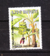 Mayotte  -  2003.  Palma  E  Casco Di Banane. Palm And Bunch Of Bananas. MNH - Frutta