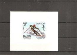 JO De Grenoble - 1968 - JC Killy ( 411 De Sharjah En BF XXX -MNH) - Winter 1968: Grenoble